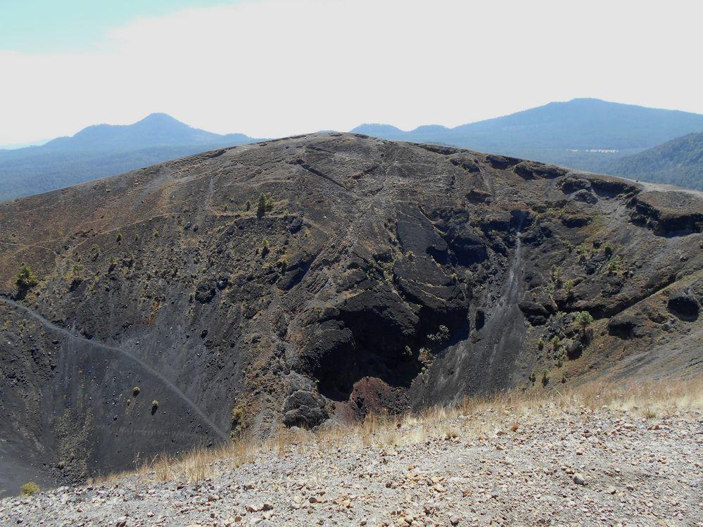 Animo ! En avant pour l'ascension du volcan Paricutin le plus jeune d'Amérique