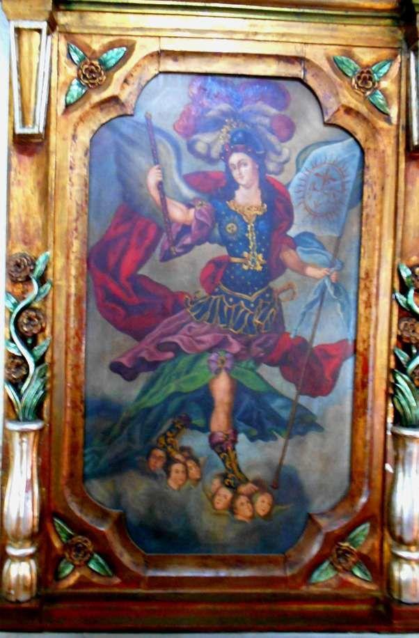 Artisanat religieux à la Mansion del Cupatitzio