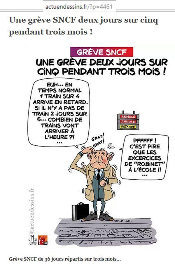 La grève SNCF : ça roule !