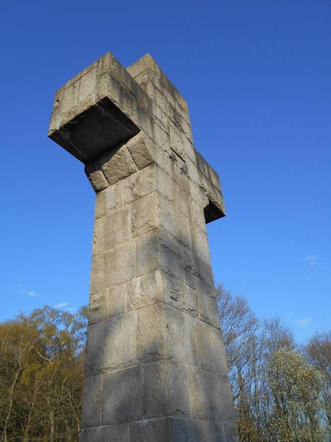 Le Massif du Morvan vu de la Croix de la Libération à Autun