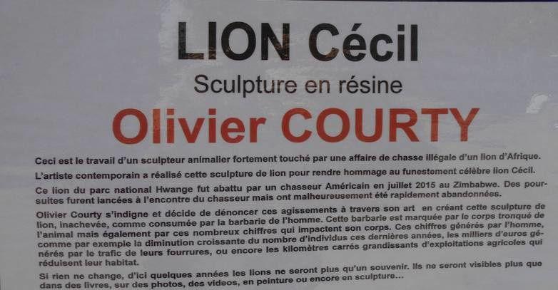 Olivier Courty à Saulieu (2): Street art et sculpture animalière