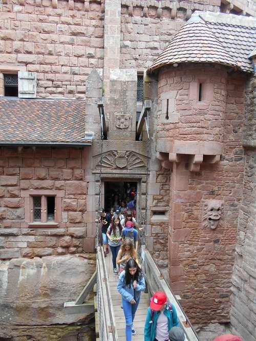 Haut-Koenigsbourg : un château alsacien magnifiquement reconstruit