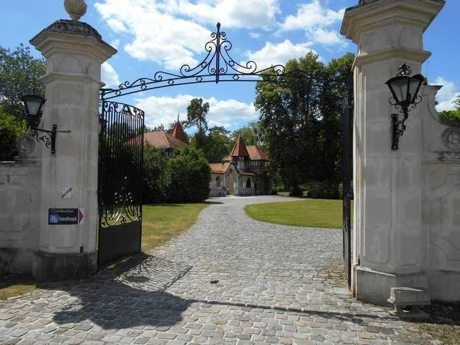 Un bon moment vécu en ces lieux en compagnie et à l'invitation de ma maman ! Ci dessus le plan du secteur et un document appartenant au château du Breuil, merci pour l'accueil.
