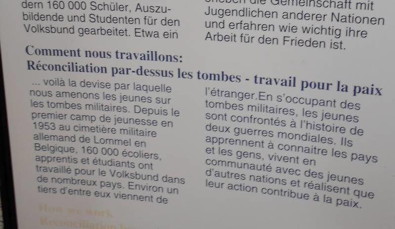 Chemin des Dames, la pacifique leçon de la nécropole du Fort de Malmaison