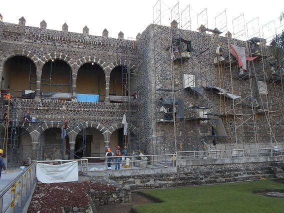 Palacio de Cortés : les travaux vont bon train !