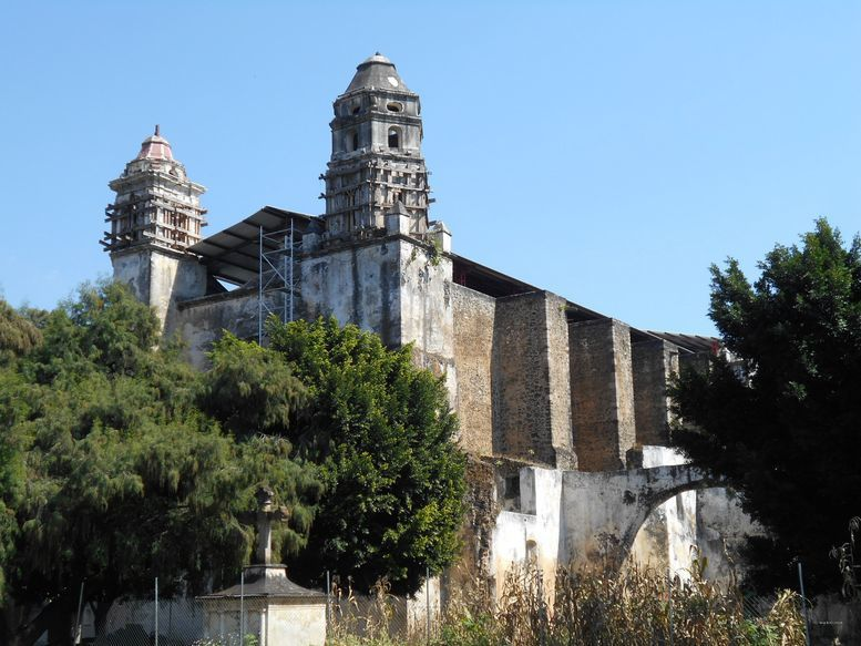 Tepoztlan répare, avec courage, les dégâts du séisme du 19 septembre