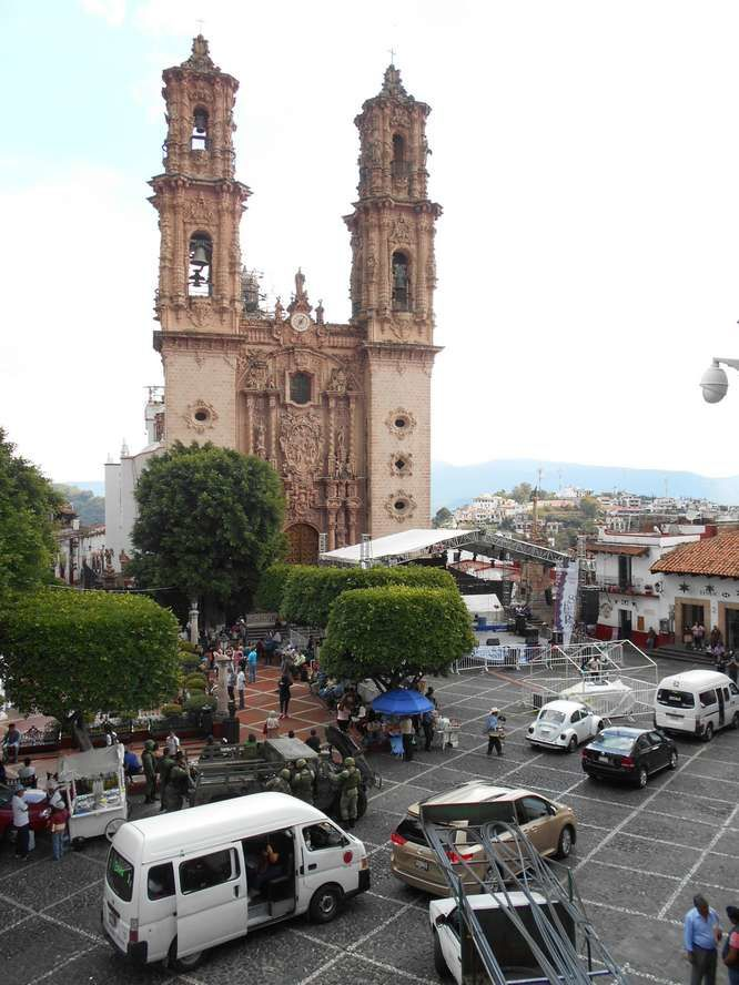 Retour à Taxco capitale de l'argent et... mine d'or pour le photographe