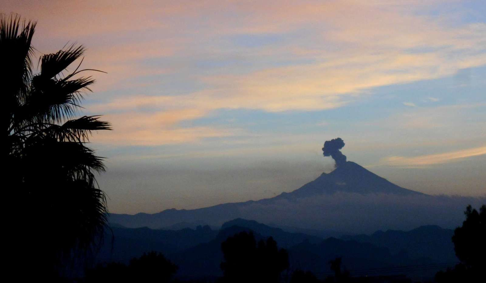 Le Popocatepetl toujours en activité