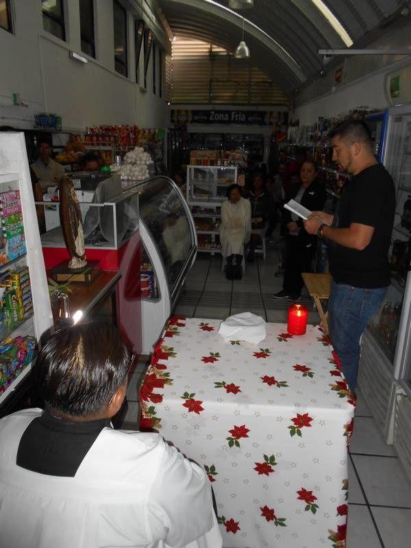 Ferveur à Cuernavaca pour la fête de N.D. de Guadalupe