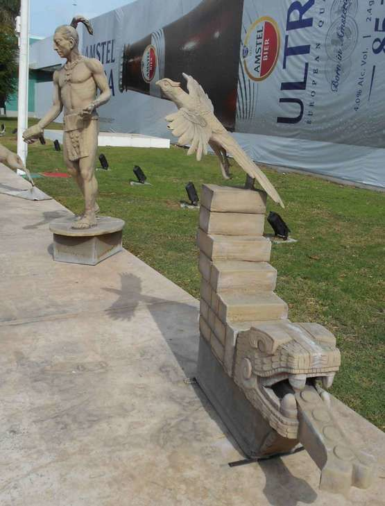 Une belle vitrine de l'état de Yucatan (Mexique)