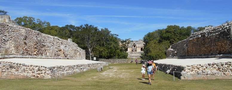 En images, une première découverte d'Uxmal, un des plus importants sites mexicains - 1 -