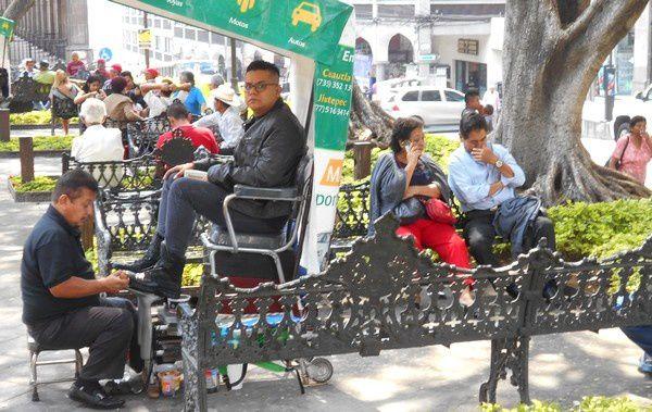 Des rues toujours animées par un commerce très vivant