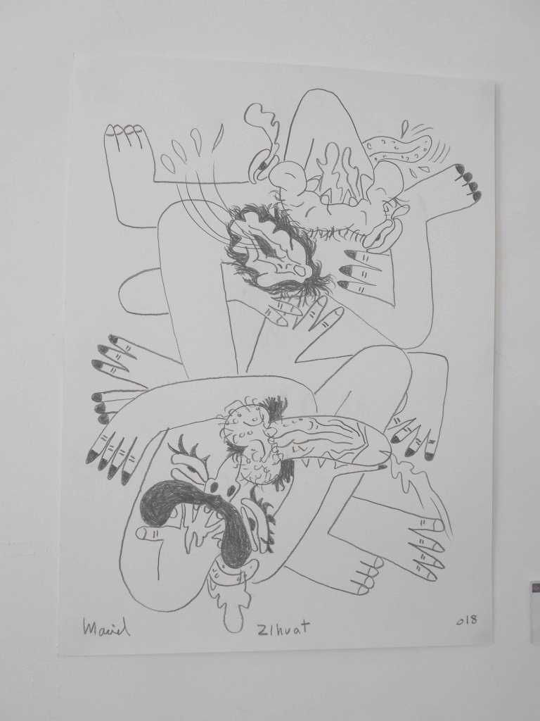 Au musée d'art indigène contemporain de Cuernavaca