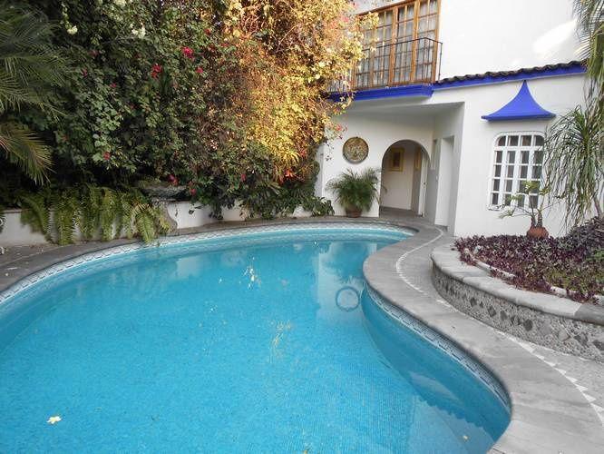 Hôtel boutique, donc de charme, La Casa Azul et ses patios  à Cuerna...