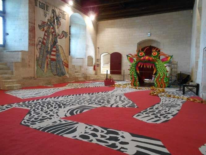Les deux châteaux de Tarascon - Beaucaire, par delà le Rhône...
