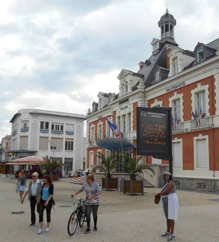 Montceau-les-Mines : mais sur les quais on se croirait presque  à Montceau-sur-Mer