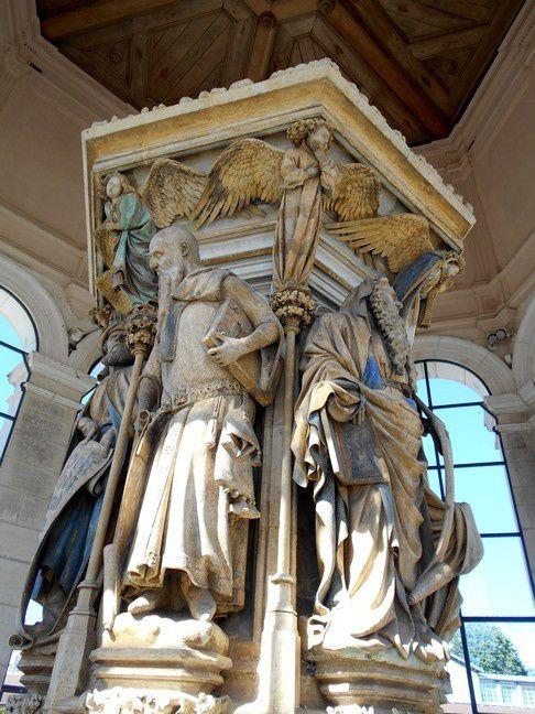 Dijon : Au Puits de Moïse: le prophète sous les traits du duc de Bourgogne?