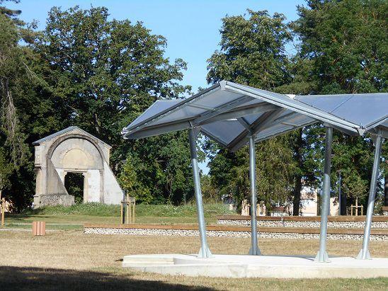 Un parc urbain à l'emplacement de l'ancienne abbaye