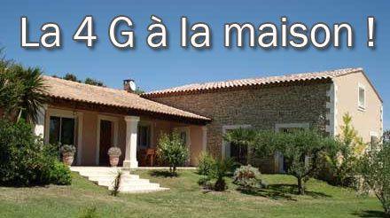La 4G pour la maison