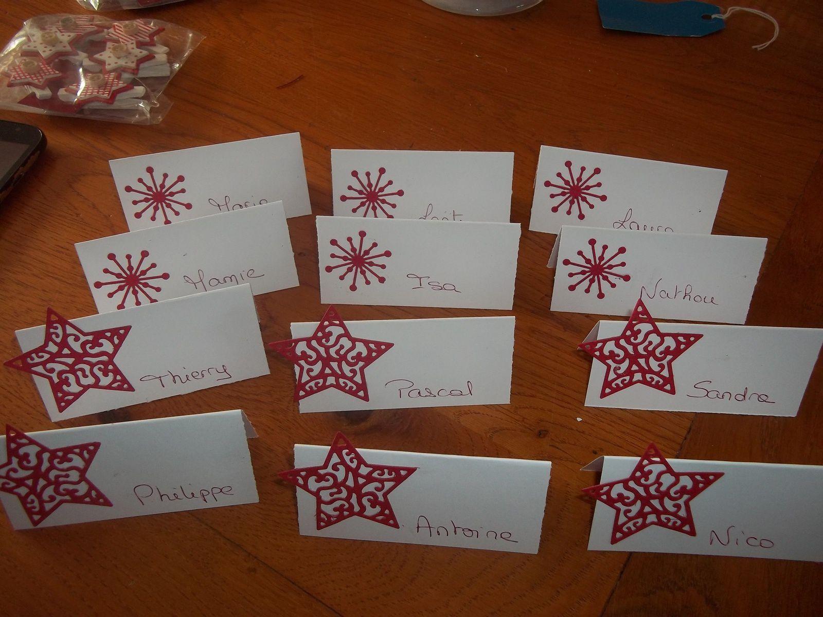 mon Noël en blanc et rouge cette année....