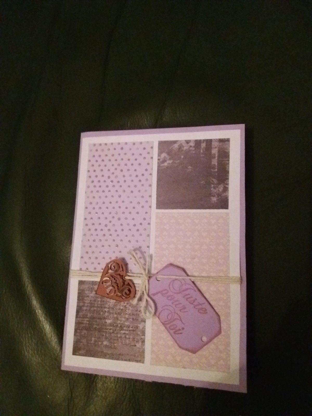 2 pages et 1 cartes
