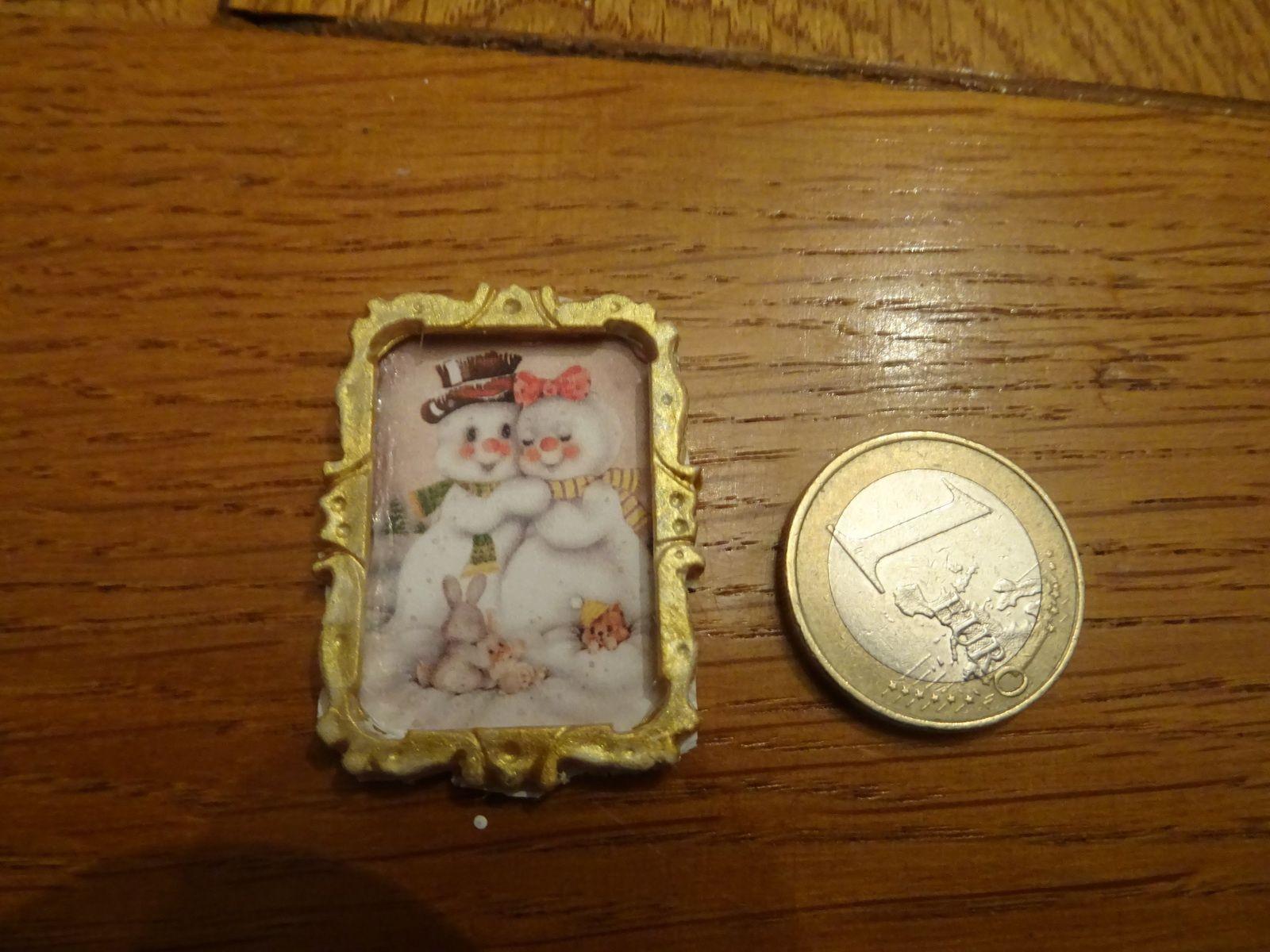 avancée 5e de mon chalet de noel miniatures