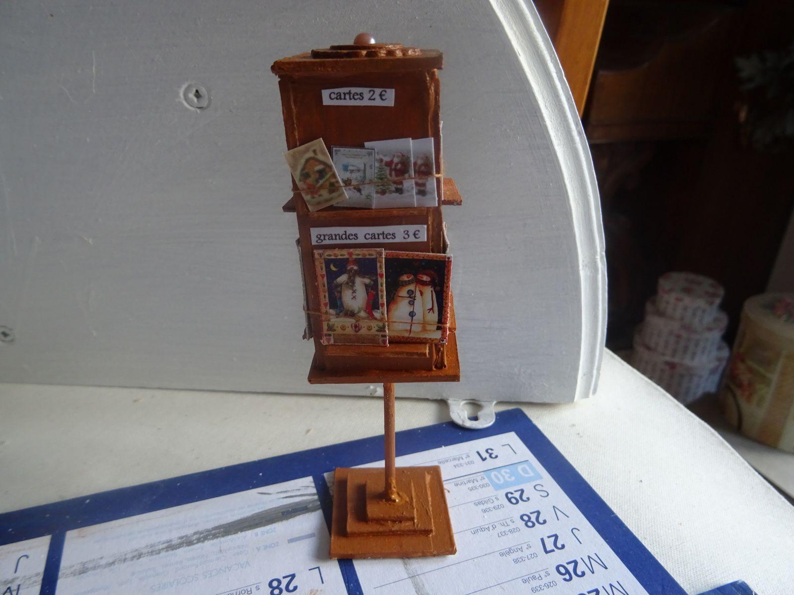 avancée n° 6 chalet de noel miniature