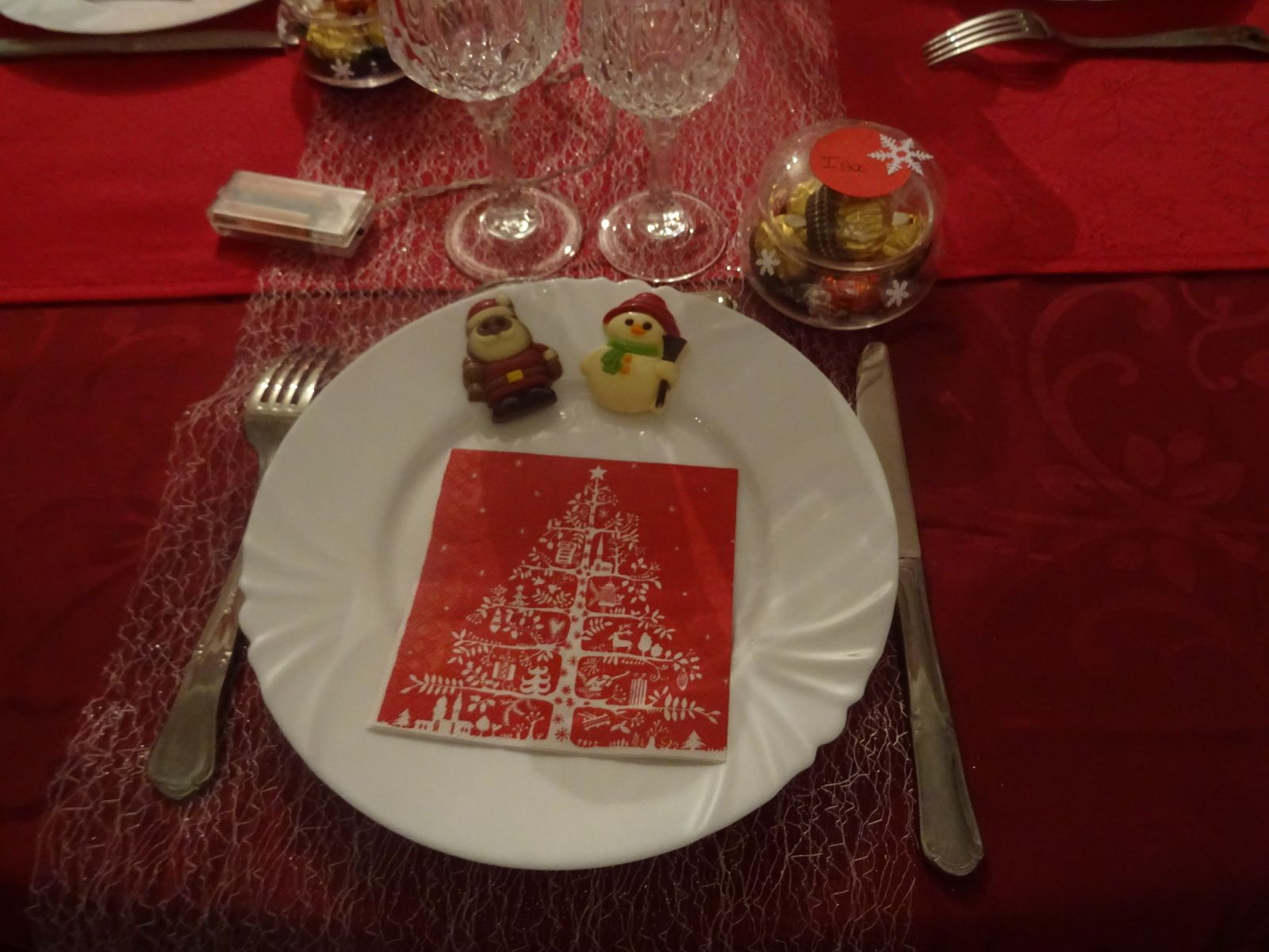 ma table pour noel