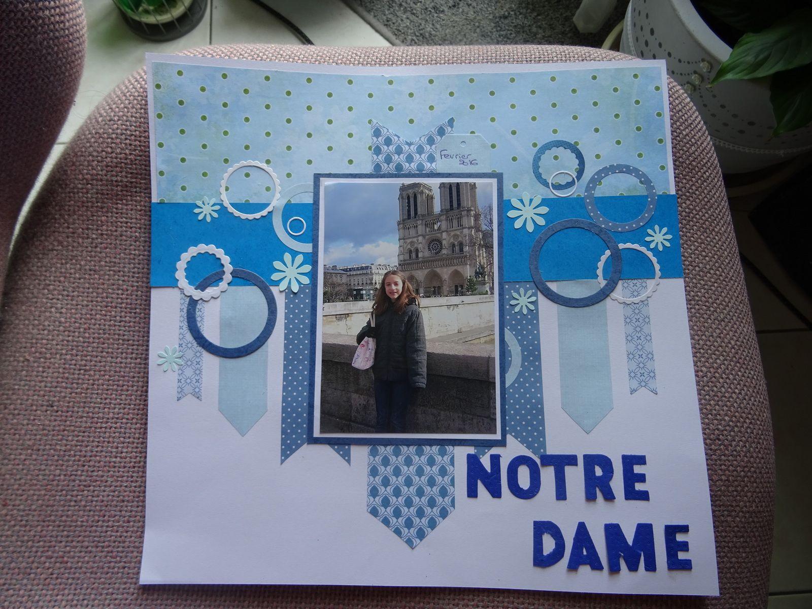 """une page """"Notre Dame"""""""