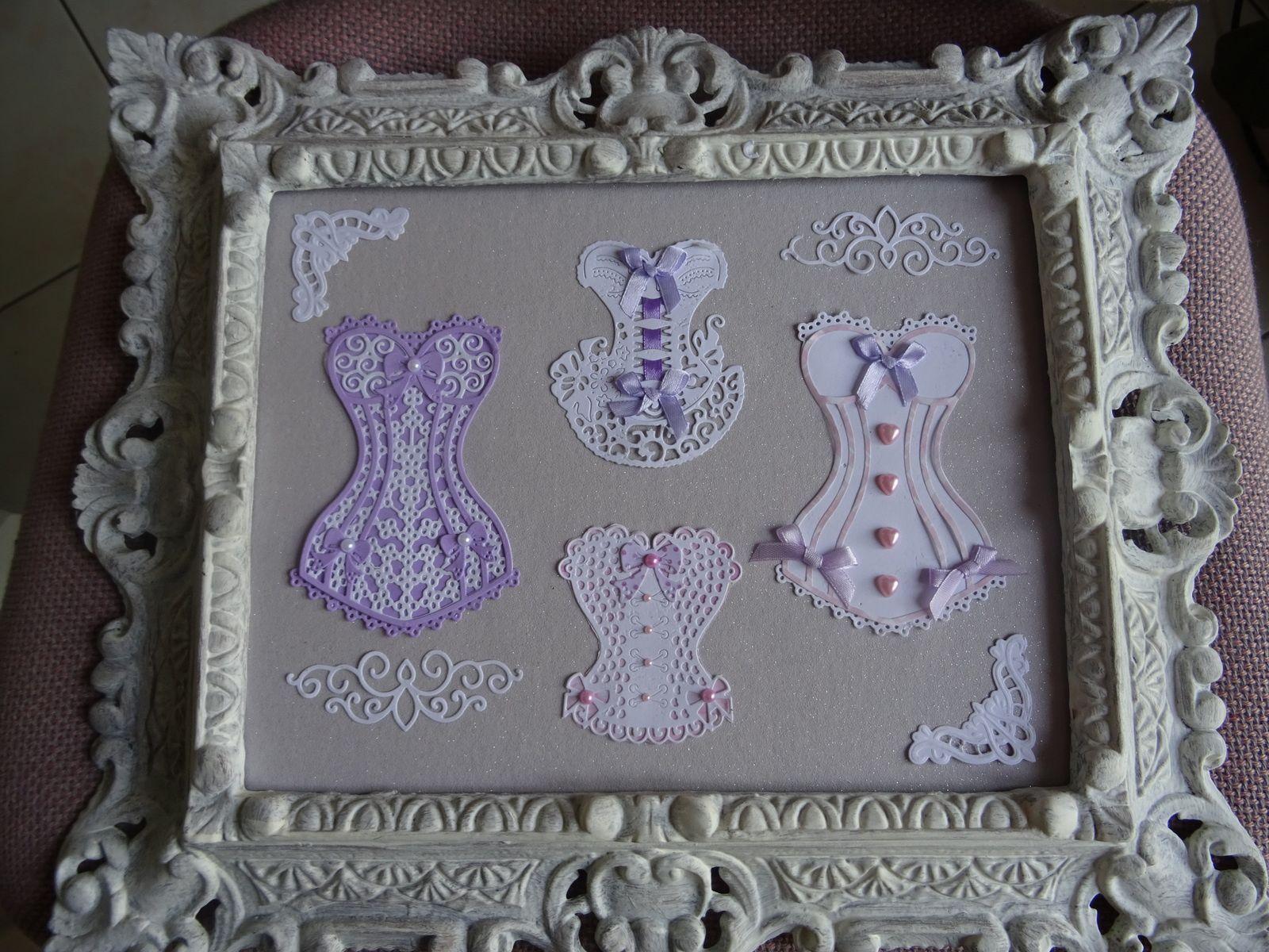 """cadre """"corsets"""""""