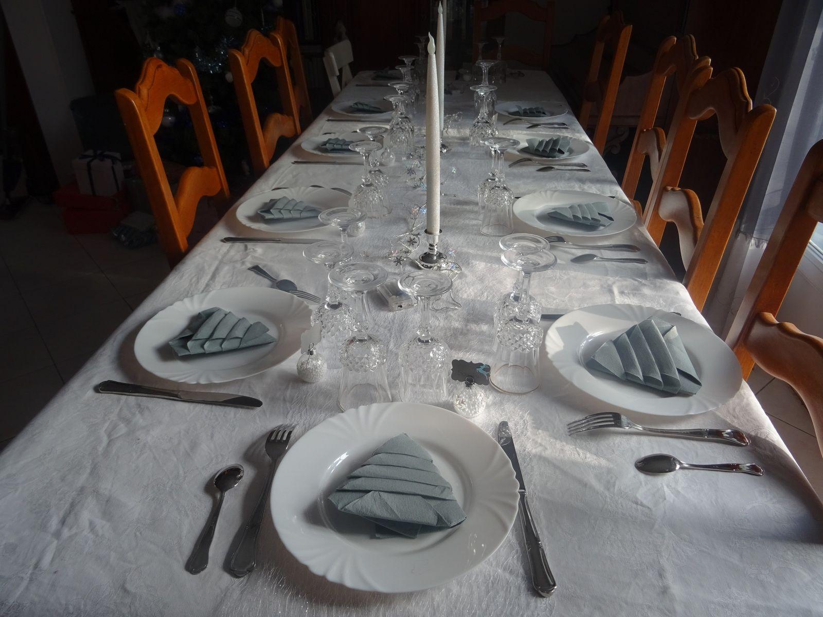 ma table de Noel
