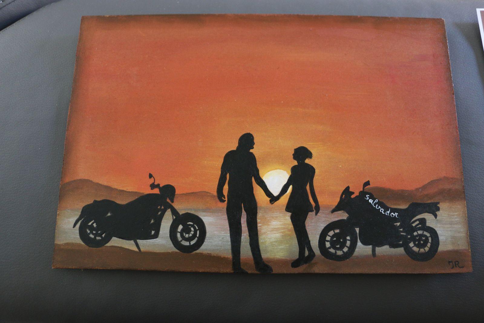 ma peinture en acrylique