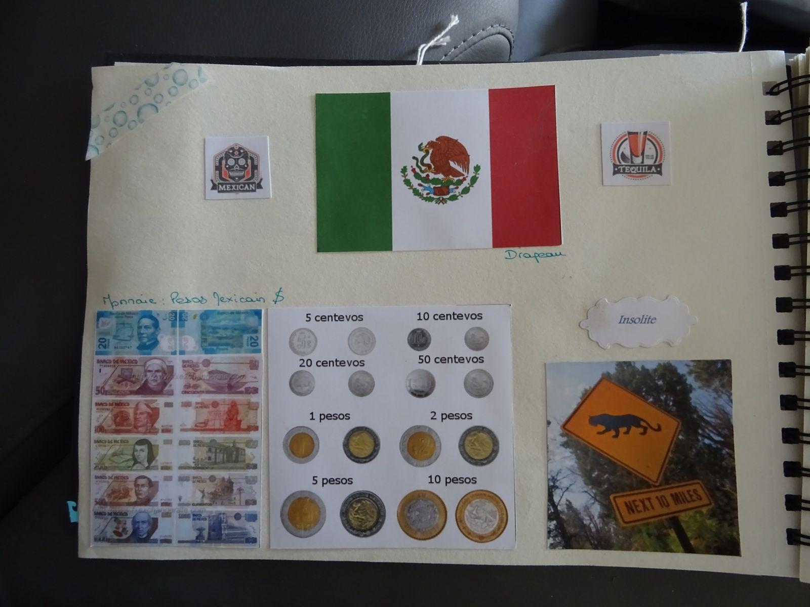 album de mon voyage au Mexique Partie 1