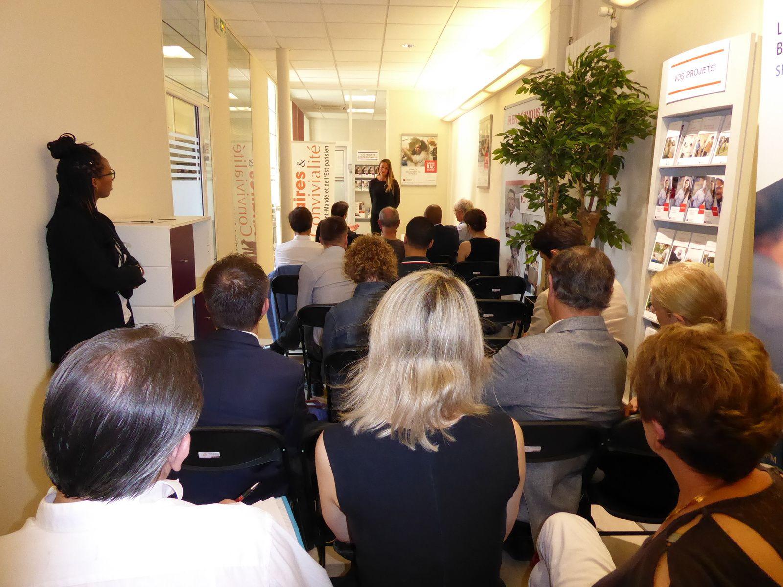 Plenière d'été Affaires & Convivialité au sein de l'Agence de la Société Générale