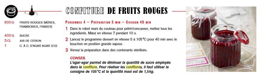 Confiture de prunes express au companion ou pas