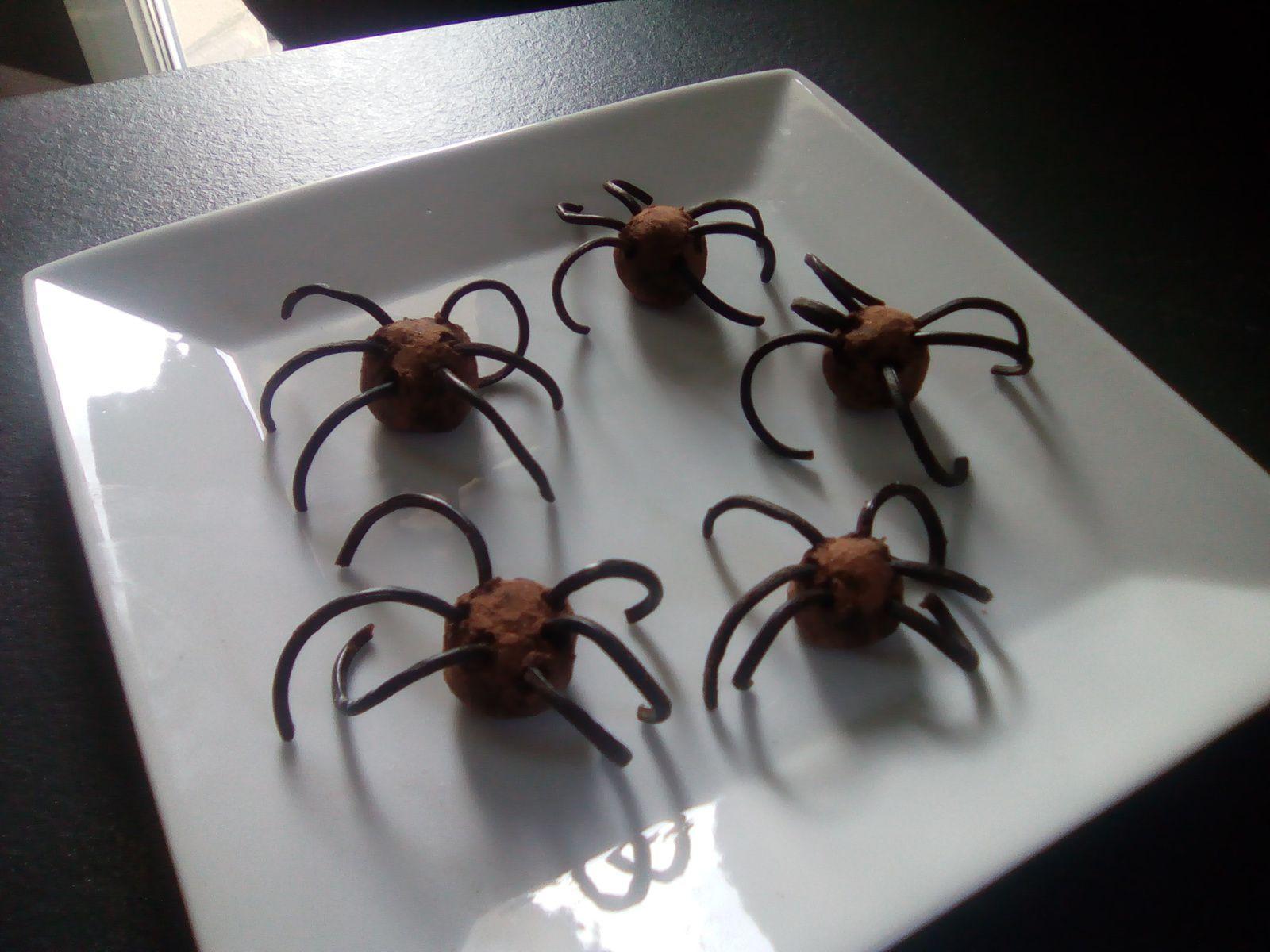 Plein d'idées de recettes d'halloween