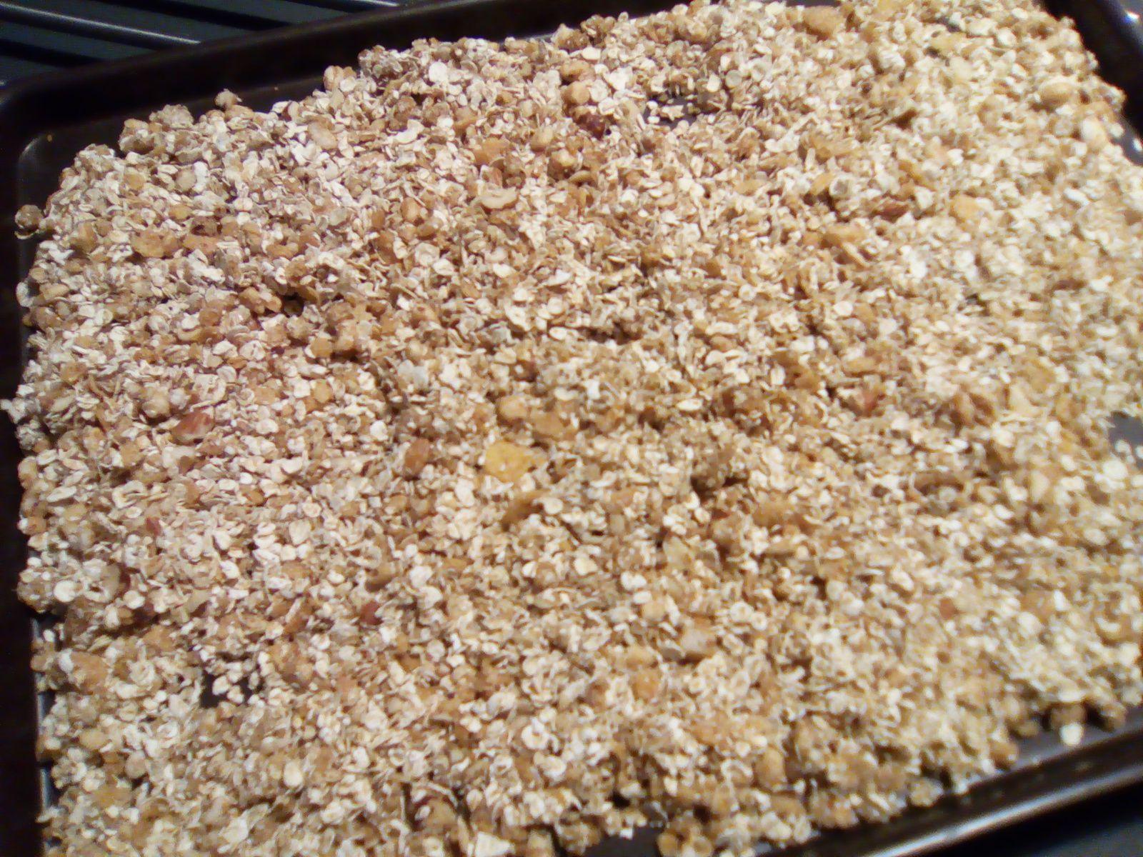 Granola ou muesli maison aux noix