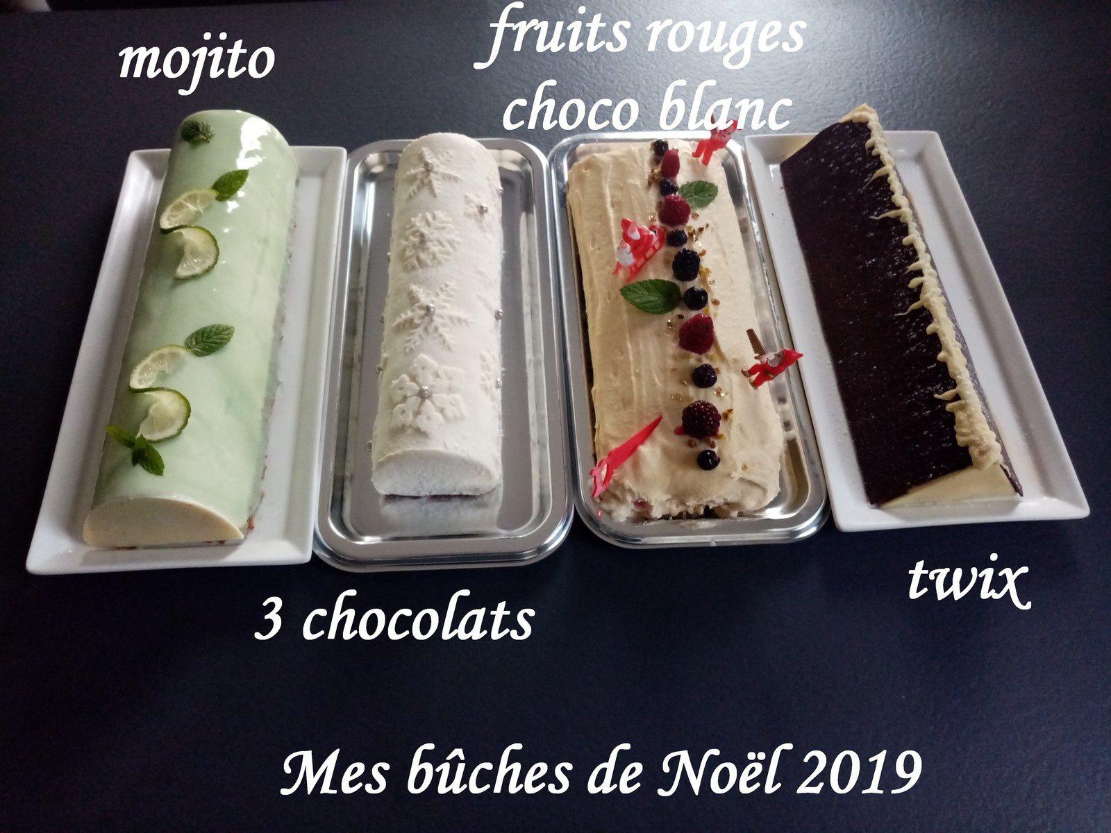 Mes bûches de Noël 2019