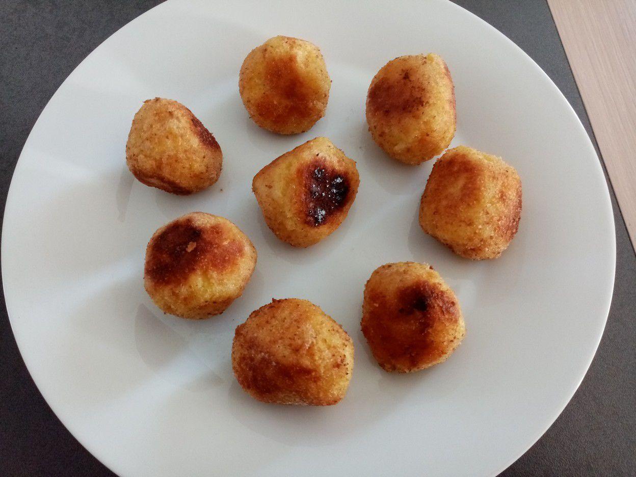 arancini, boulettes de risotto panées