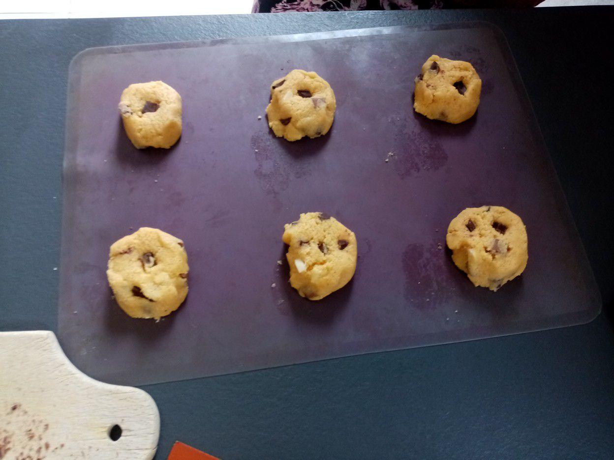 Cookies aux deux chocolats de Cyril Lignac dans tous en cuisine