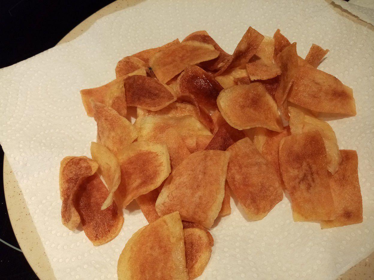 Chips au paprika de Cyril Lignac dans tous en cuisine