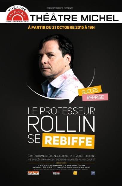 "François Rollin dans ""Le professeur Rollin se rebiffe"""