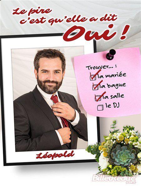 """Léopold dans """"Le pire c'est qu'elle a dit oui"""""""
