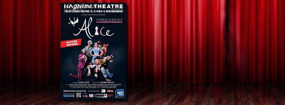 C'est magique, ça swingue et c'est drôle avec la comédie musicale Alice