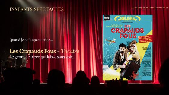'Les Crapauds Fous' de Mélody Mourey