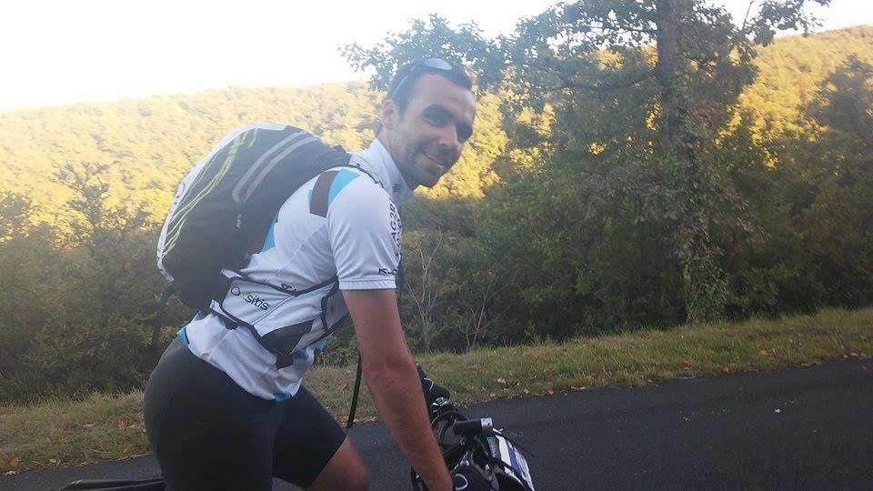 Les 100km de Millau vu par mon suiveur