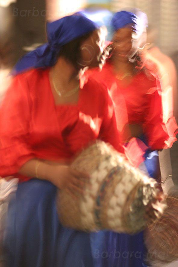 Danseuse Haïtienne, 2006 © Barbara Mai