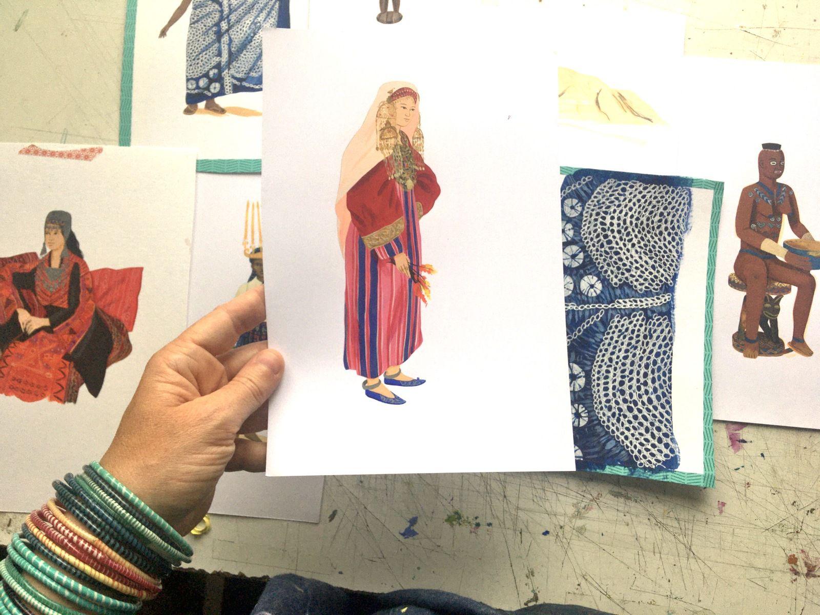 Illustrations pour le Musée du Quai Branly