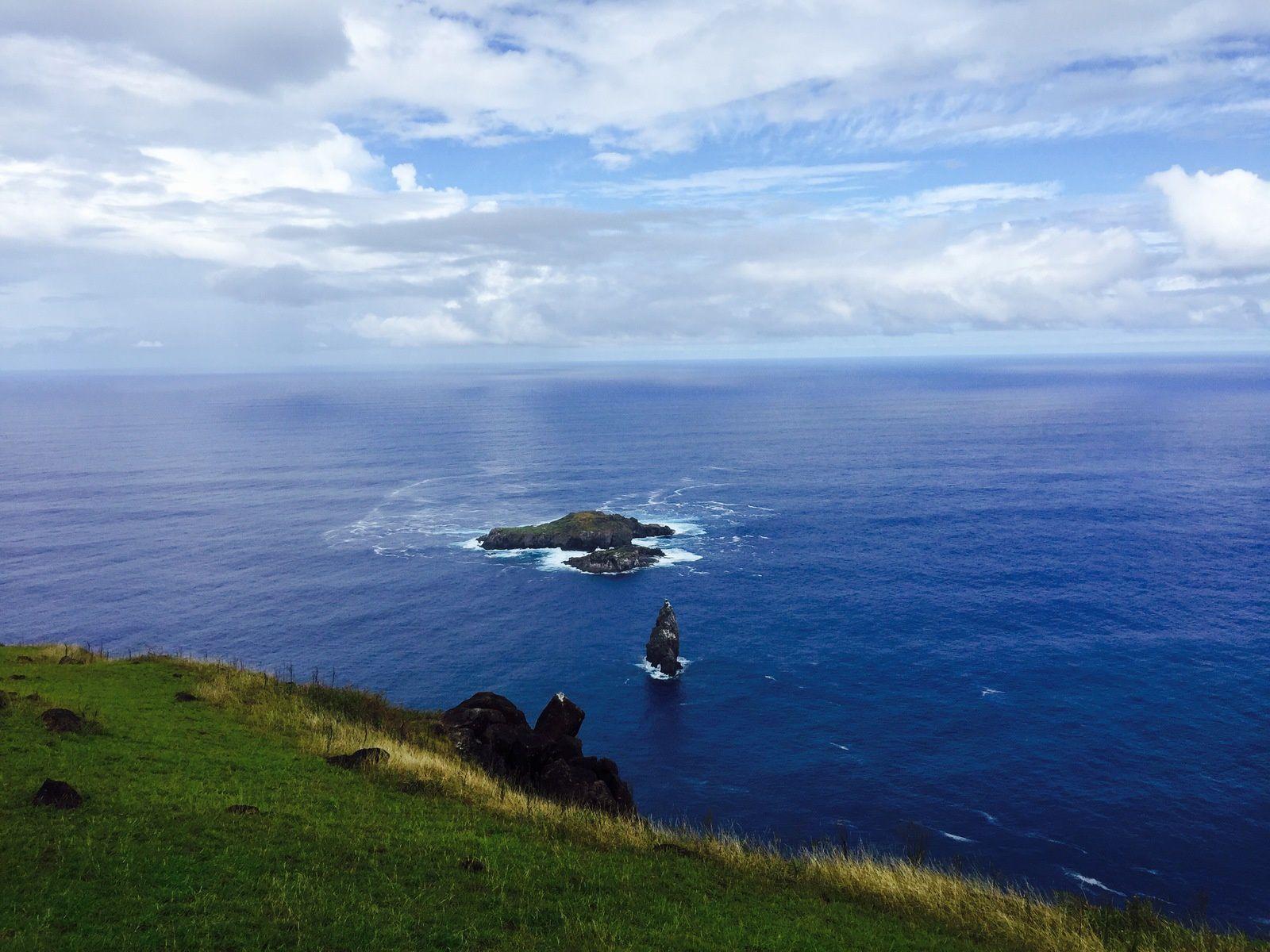 Les 3 îlots dont le plus grand était le terrain d'une compétition acharnée...