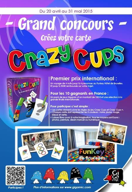 Concours Crazy Cups